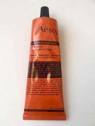 Aesop Rind Concentrate Body Balm 橙香身體乳霜