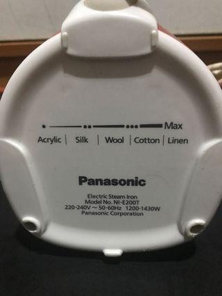 Panasonic Steam Iron like new condition