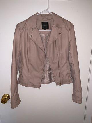 faux leather jacket - Dynamite