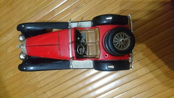 早期賓士模型車(義大利製)