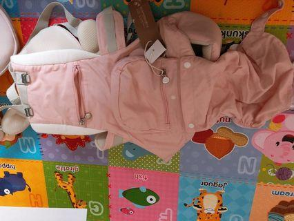 韓國品牌Jerrybaby三合一腰凳背巾組