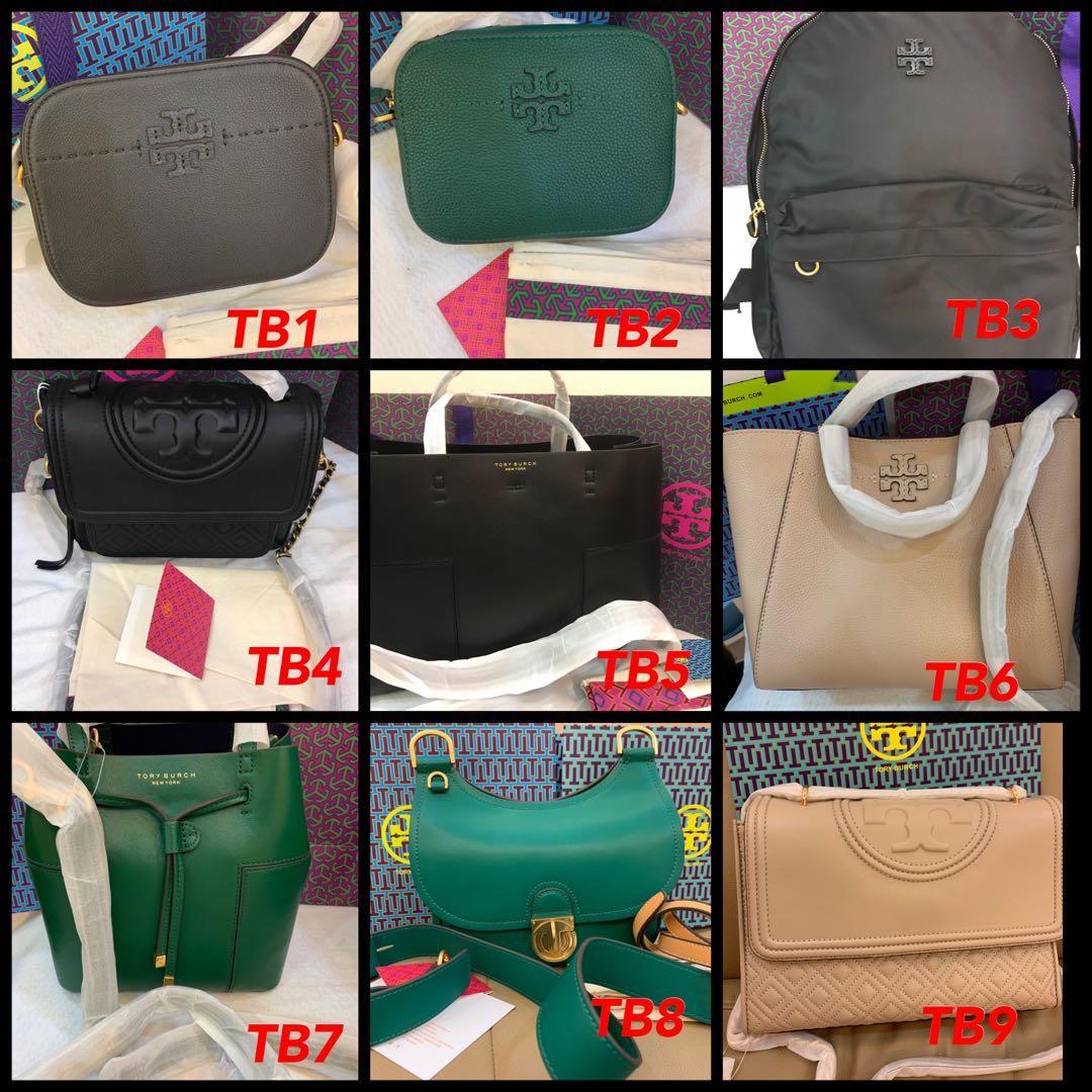(08/07/19)Ready Stock Authentic Tory Burch women bag wallet clutch handphone pouch furla sling bag March Jacobs camera bag coach backpack belt bag