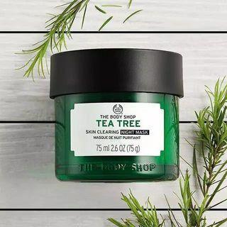 (Preloved) The Body Shop Tea Tree Night Mask
