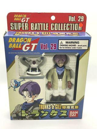 Vintage 1997 Dragonball GT Trunks and Gill