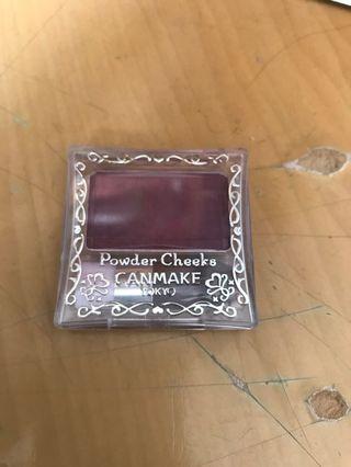 Canmake blusher pw38 deep plum