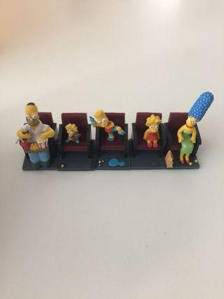 Rare and limited edt Simpson collectibles