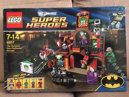 LEGO 6857 The Dynamic Duo Funhouse Escape