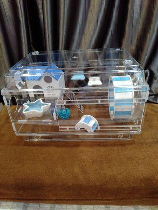 🚚 Hamster acrylic cage (Zoog)