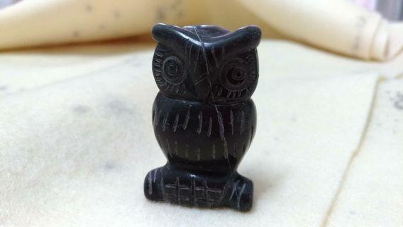 石雕 貓頭鷹