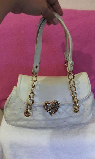 White Lovecat Handbag