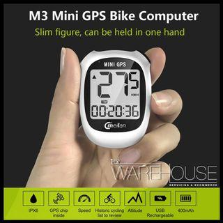 Meilan M3 Mini GPS Bike Computer Wireless Cycling Computer Bicycle E-Scooter PMD MTB Speedometer
