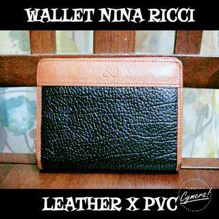 Wallet Leather Nina Ricci