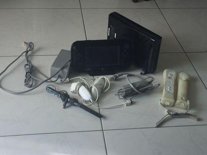 Nintendo Wii U + Games