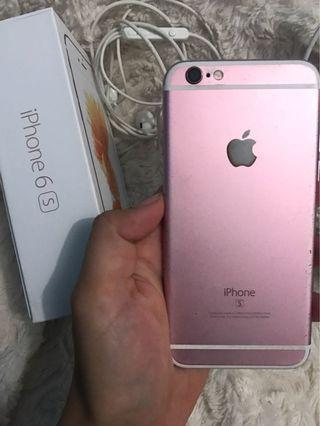 iPhone 6s 32gb Rose golf No minus semua lancar