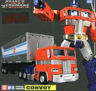 全新未開 靚盒 Takara Tomy Transformers Masterpiece MP-10 Convoy 柯柏文 MP10