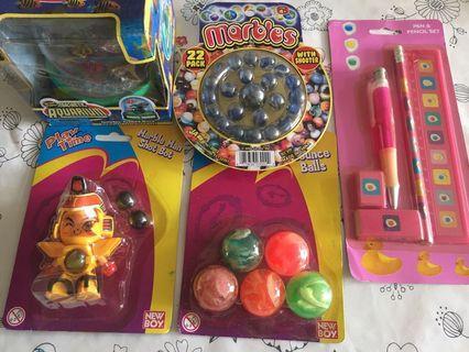 小朋友玩具-磁性魚樂,彈珠人,彈彈波,波子,文具