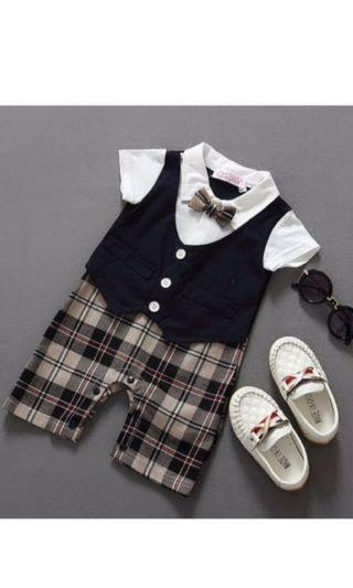 🚚 Gentleman baby romper 0-3 months