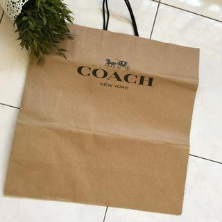 ** Brand new coach paper bag for sales**