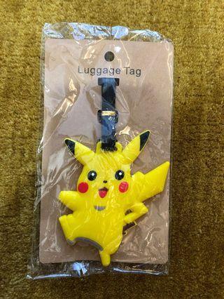 Pikachu Luggage Tag