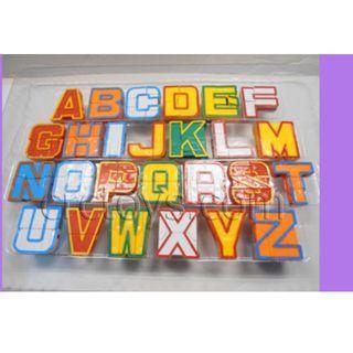 The alphabet Robot transform set Character 26
