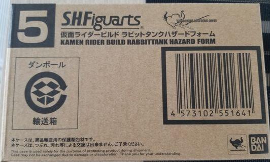 全新 SHF Kamen Rider Build Rabbittank Hazard Form 幪面超人 拉打