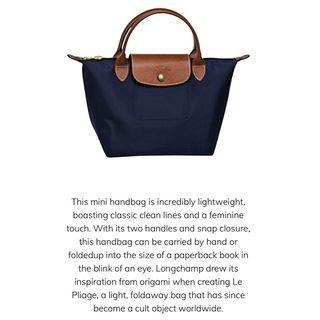 Like new authentic mini Longchamp handbag