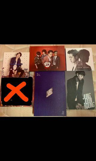 [FREE] Jung Joon Young/JJY Band CDs #Betul2Free