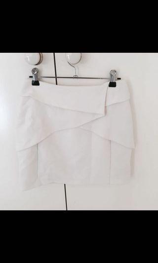 Portman's work structured skirt