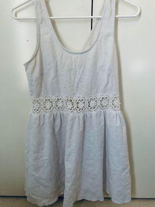 FESTIVAL WHITE DRESS