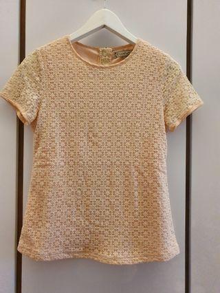 🚚 L'zzie Flower pattern lace top
