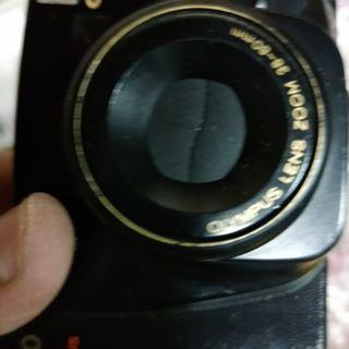 底片 傻瓜相機 OLYMPUS OZ80 送背帶 電池 皮套