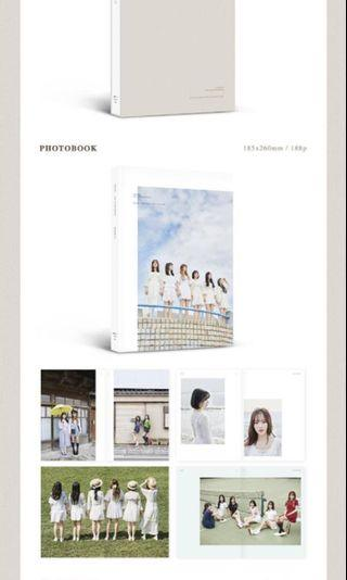 Gfriend 1st photobook Japan fanclub exclusive version