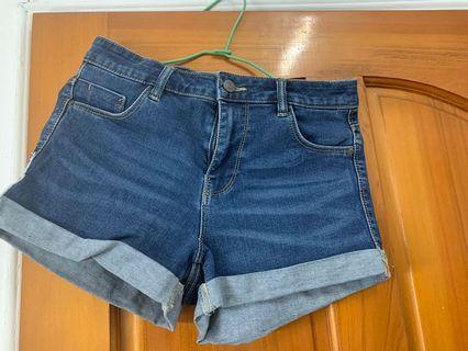 Zara牛仔短褲 9.5成新