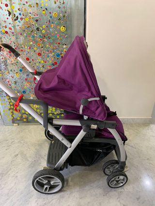 Joovy caboose vary light twin stroller
