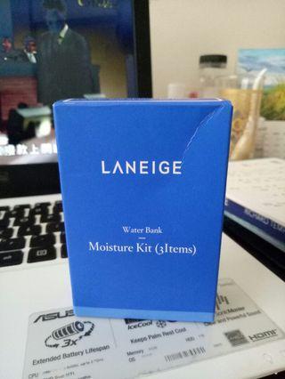 Laneige moisture kit (3 items)
