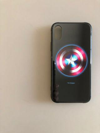 iPhone X/XS Case The Avengers (Glow)