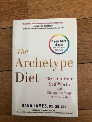 🚚 BOOK The Archetype Diet by Dana James
