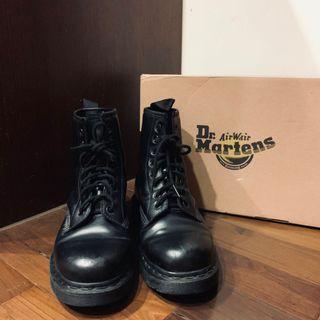 可議價Dr.martens經典1460 8孔亮皮全黑馬汀靴