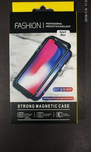 Samsung Note 9 magnetic casing