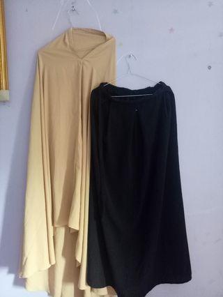 Borongan Khimar + Rok