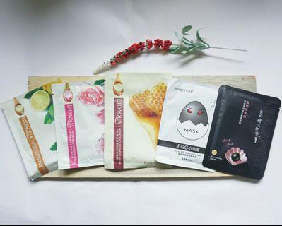 Sheet Mask Paket & Satuan