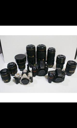 Nikon Body Lens and Accessories