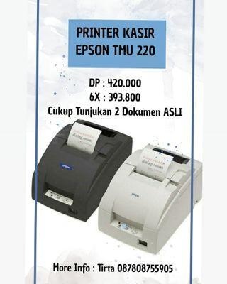 Printer Kasir Epson TMU 220 Bisa Cicilan Tanpa CC