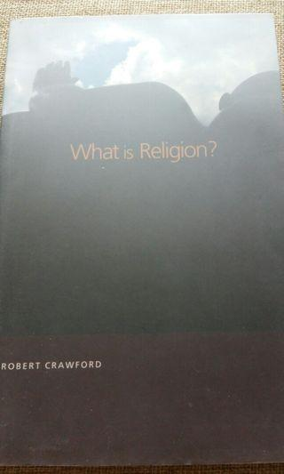 Robert Crawford What is Religion?