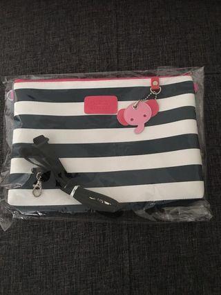 🚚 BN stripes handbag sling bag