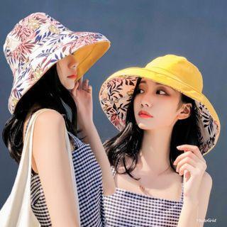 日韓大熱 夏天必備 防曬雙面太陽帽 只售$40-$45 (現貨/預定)