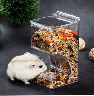Hamster acrylic auto feeder