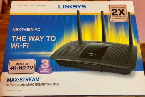 Wireless Router Linksys (AC 1900)