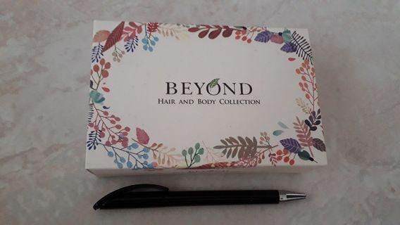 🚚 Beyond Hair and Body Collection