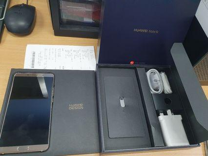Huawei Mate 10 4/64 mint condition. Local set.